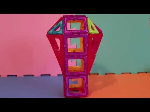 Build with Me - Limmy's Magnetic Building Blocks Hot Air Balloon Construction tutorial