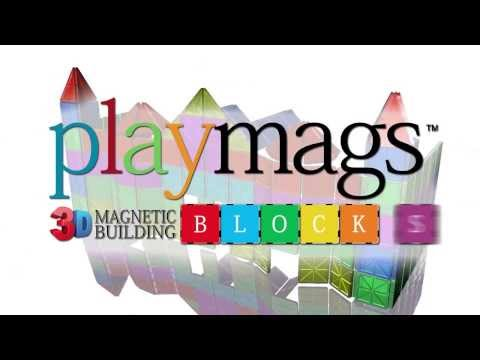 Playmags 3D Magnetic Blocks