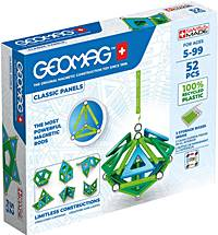 geomag classic panels 741 green line 52 teile