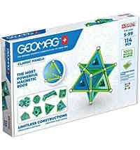 geomag classic panels 743 green line 114 teile
