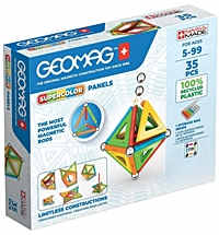 geomag supercolor 377 green line 35 teile