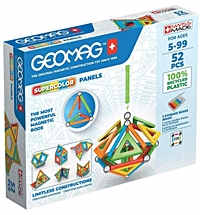 geomag supercolor 378 green line 52 teile
